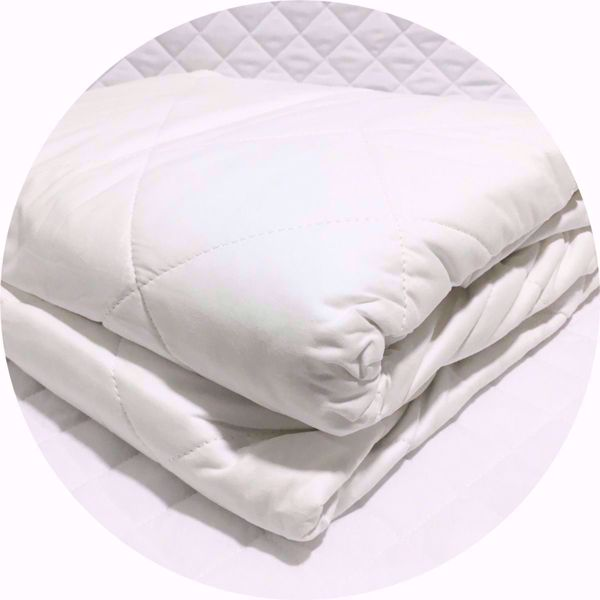 Quilted 100% Cotton Mattress Protector