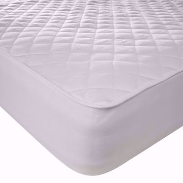 Waterproof Quilted Microfibre Mattress Protector