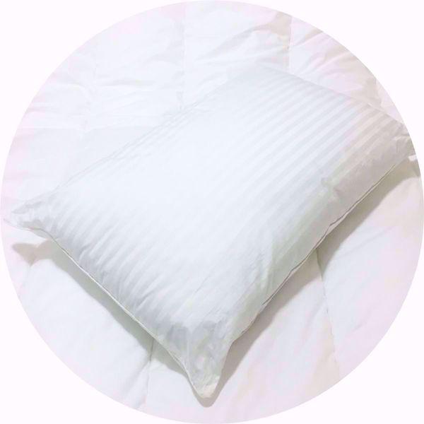 Luxury Satin Stripe Hotel Pillow